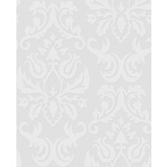 Large Damask Paintable Wallpaper Sample