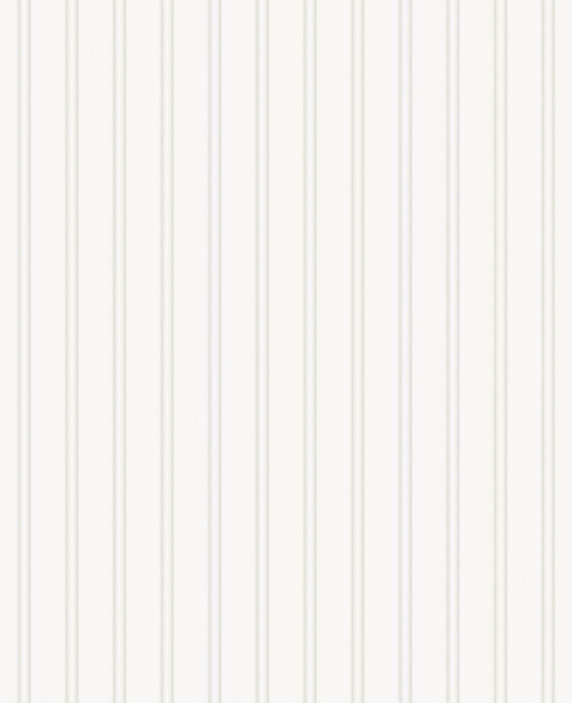 Beadboard Paintable Wallpaper (prepasted) Sample