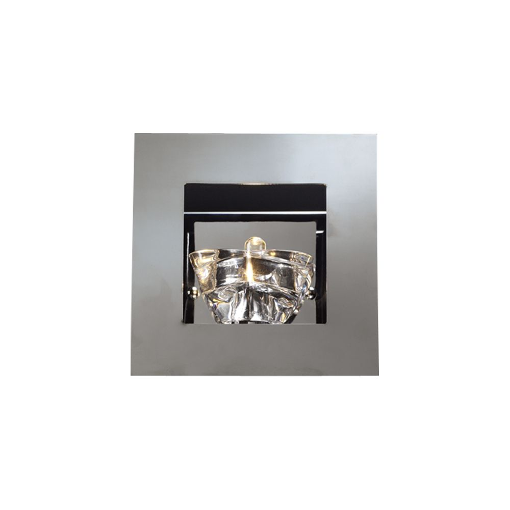 1 Light Sconce with Clear Glass and Polished Chorme Finish CLI-HD1184085 Canada Discount