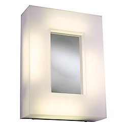 Contemporary Beauty Contemporary Beauty 4 Light Sconce with Frost Glass and Polished Chorme Finish
