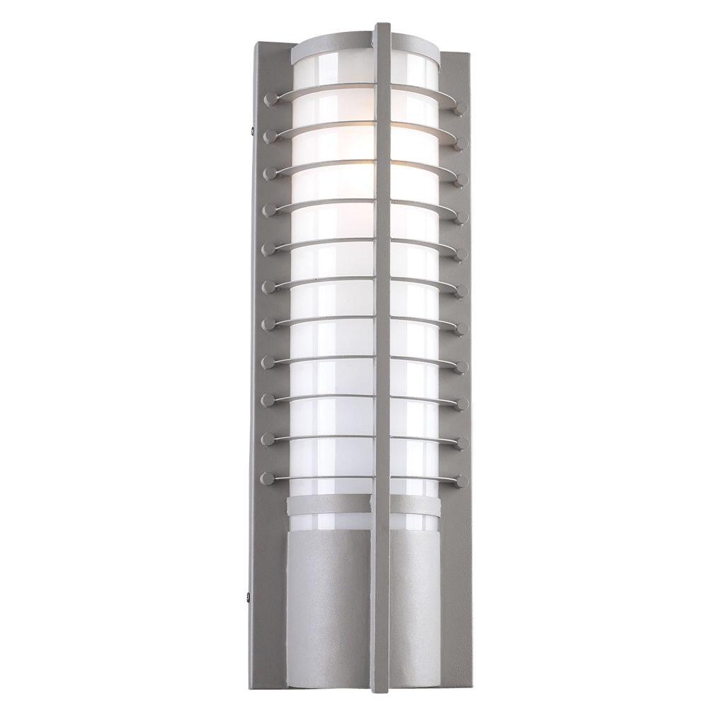 2 Light Outdoor Wall Sconce with Matte Opal Glass and Slate Finish CLI-HD1166586 Canada Discount