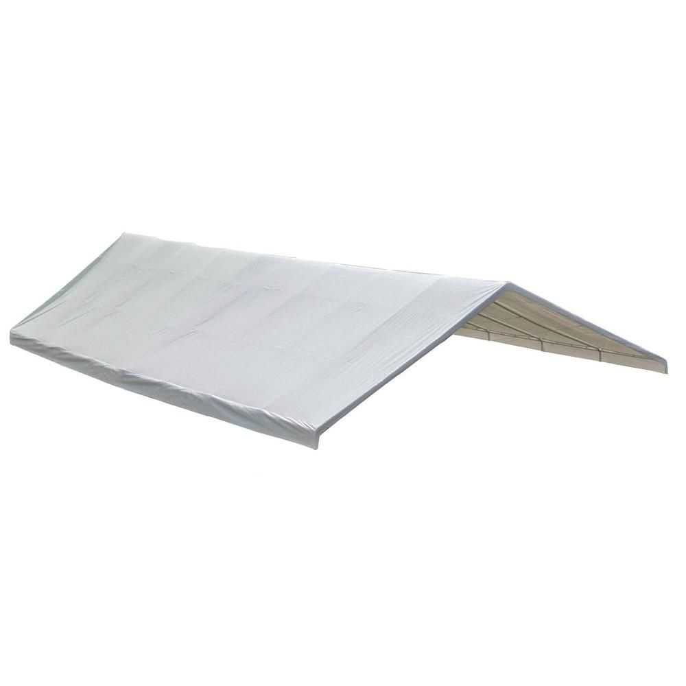 Ultra Max 24 x 50 White Industrial Canopy Replacement Cover, Fits 2-3/8 Inch Frame 800236 Canada Discount
