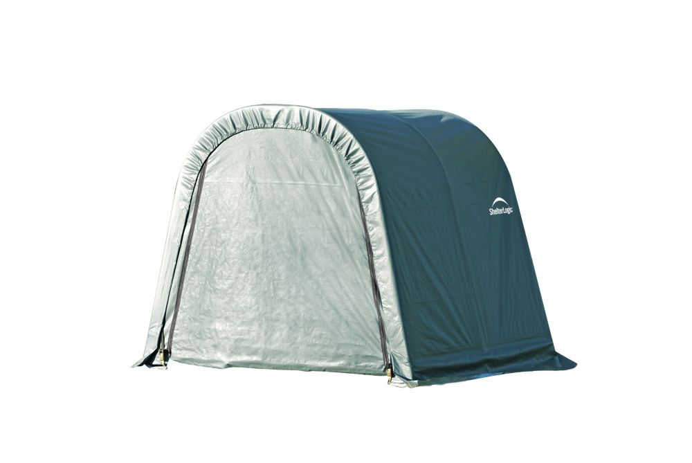 Green Cover Round Style Shelter - 9 Feet x 8 Feet x 10 Feet 76822 Canada Discount