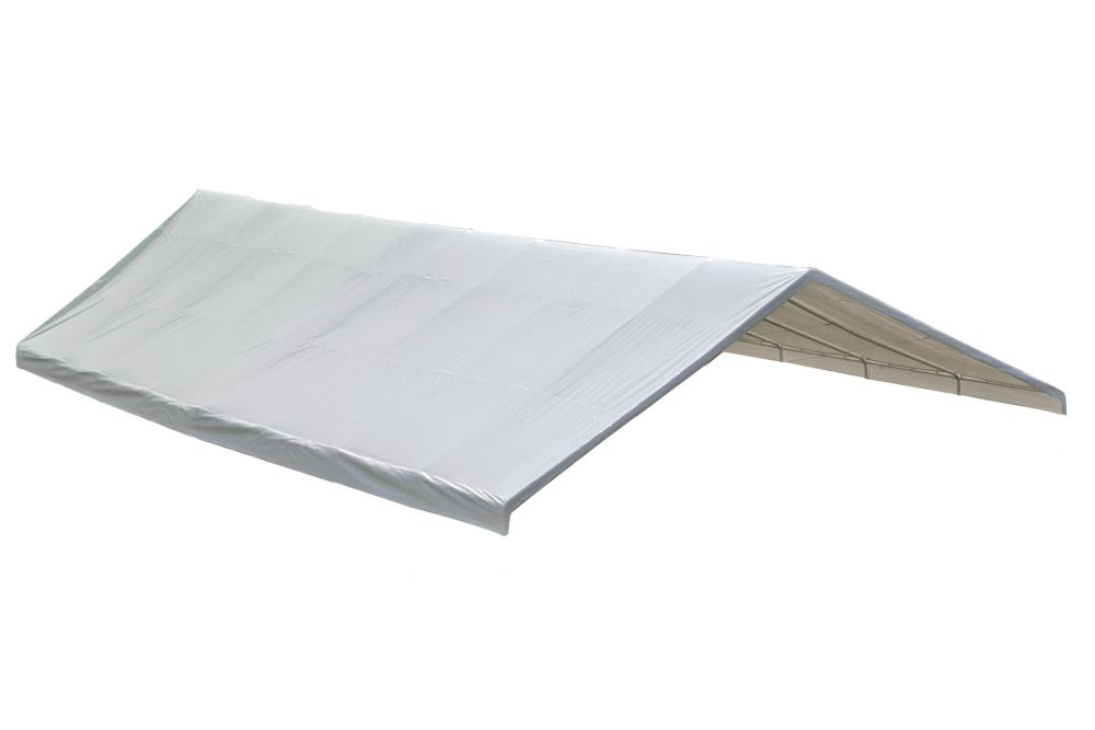 24 x 40 White Canopy Replacement Cover - Fits 2 3/8 Inch Frame 800235 Canada Discount