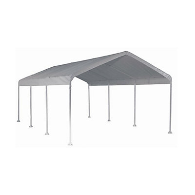 ShelterLogic Super Max 12 Ft X 20 White Premium Canopy