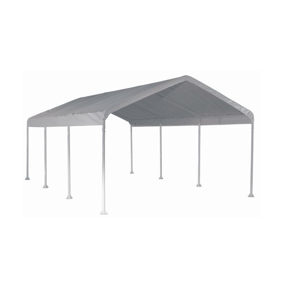 ShelterLogic Super Max 12 ft. x 20 ft. White Premium Canopy