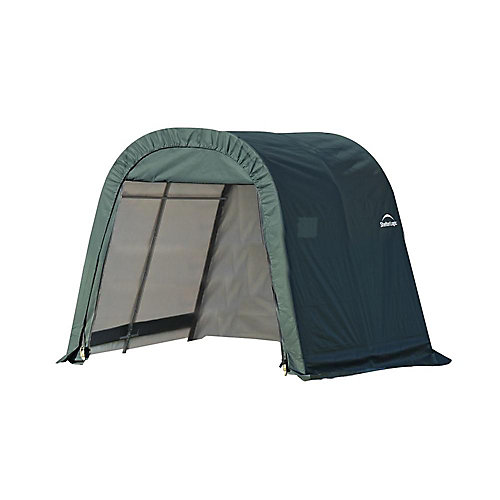 RoundTop 8 ft. x 8 ft. x 8 ft. Shed Storage Shelter