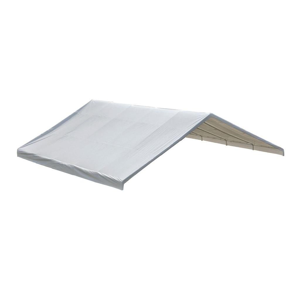 Ultra Max 24 x 30 White Industrial Canopy Replacement Cover, Fits 2-3/8 Inch Frame 800234 Canada Discount