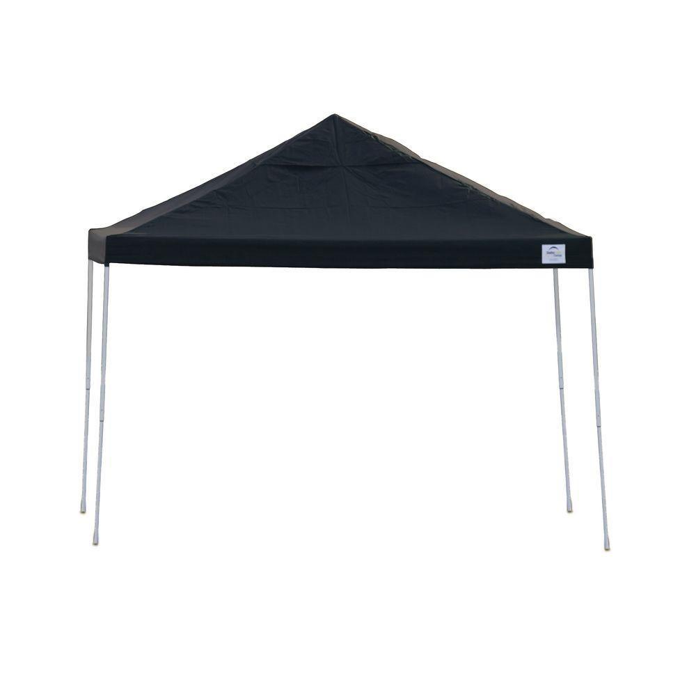 Pro 12x12 Black Straight Leg Pop-Up Canopy