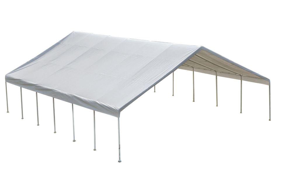Ultra Max 24 x 50 White Industrial Canopy 27274 in Canada