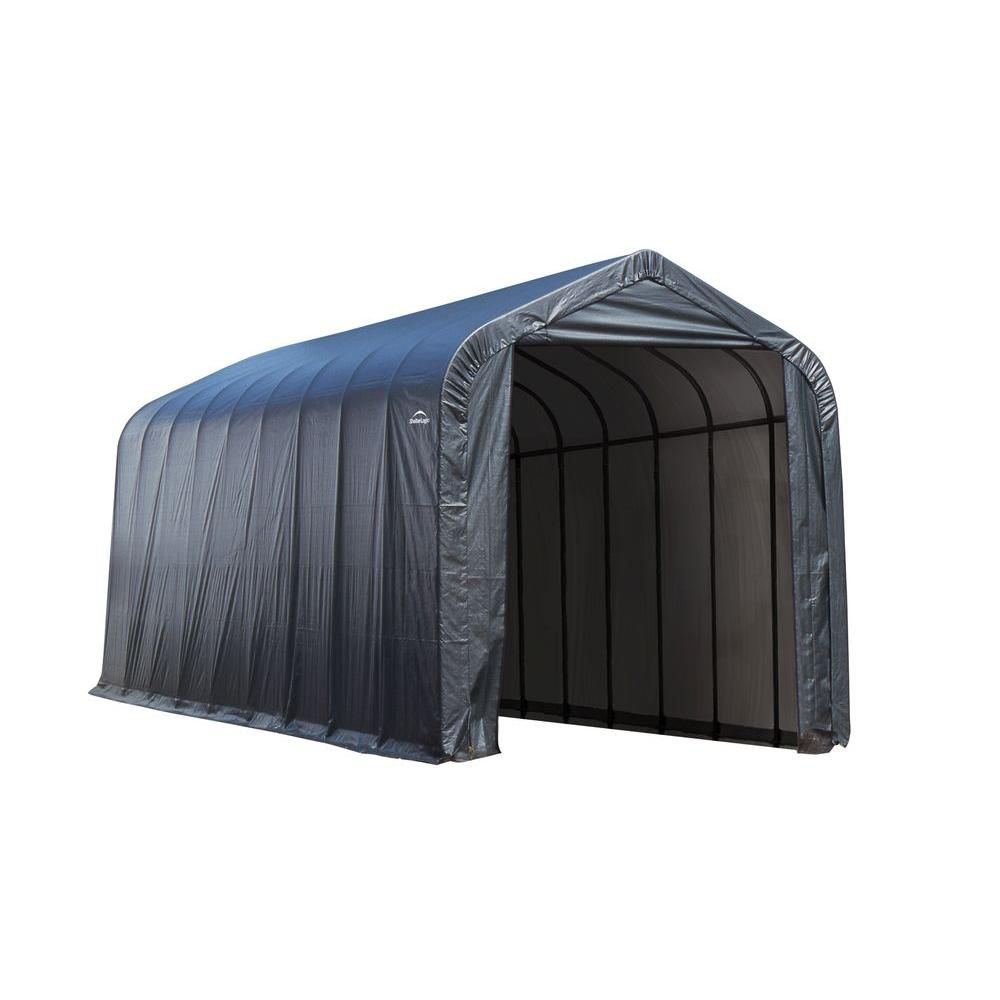 gray box outdoors sheds shelterlogic auger amazon ca with a peak sports in anchors shed dp