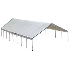 Ultra Max 30 ft. x 50 ft. White Industrial Canopy