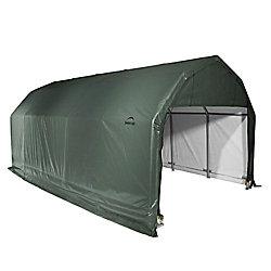 ShelterLogic Abri de style grange vert 12 pi (larg.) x 24 pi (prof.) x 11 pi (haut.)