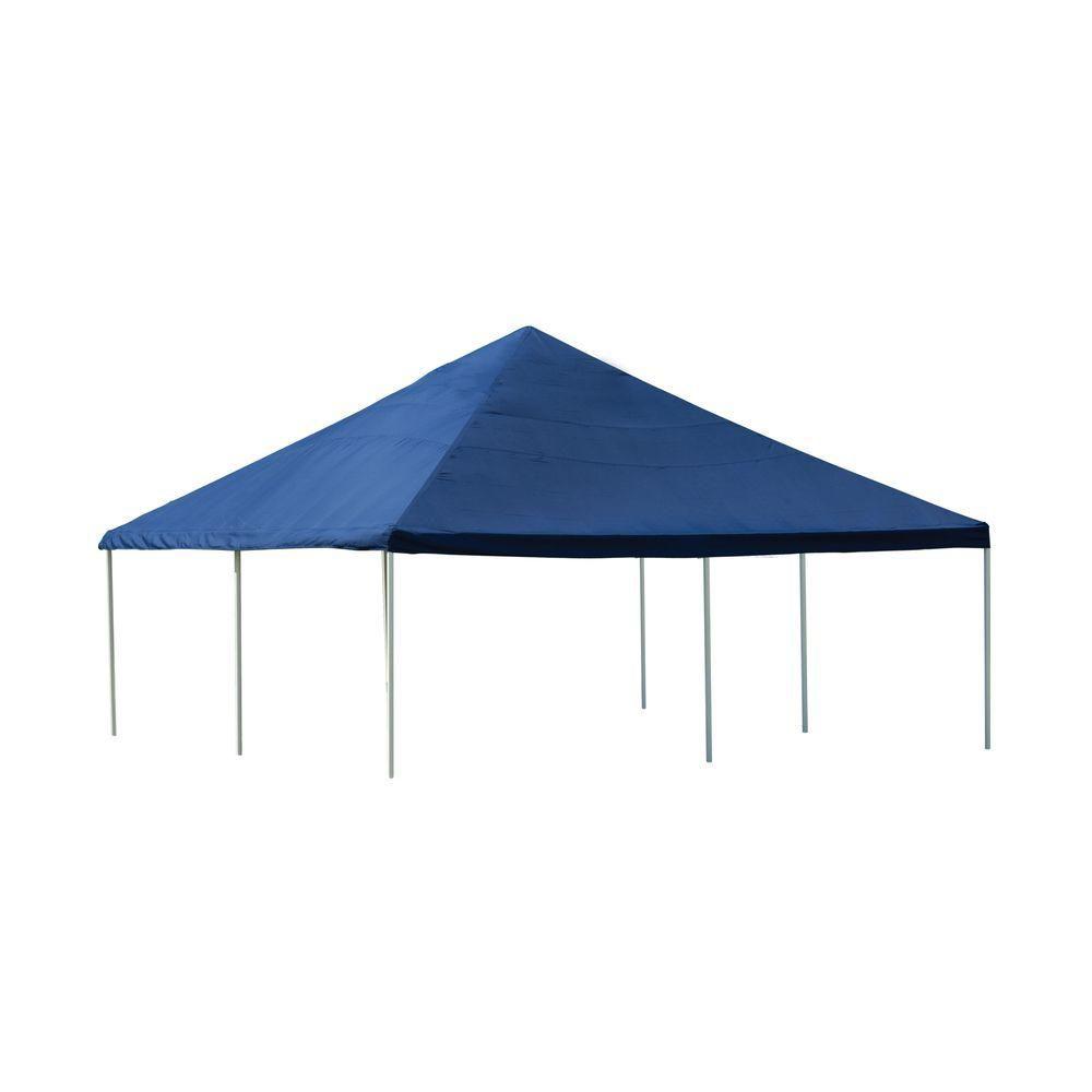 Celebration 20  Feet  x 20  Feet  Blue Decprative Canopy