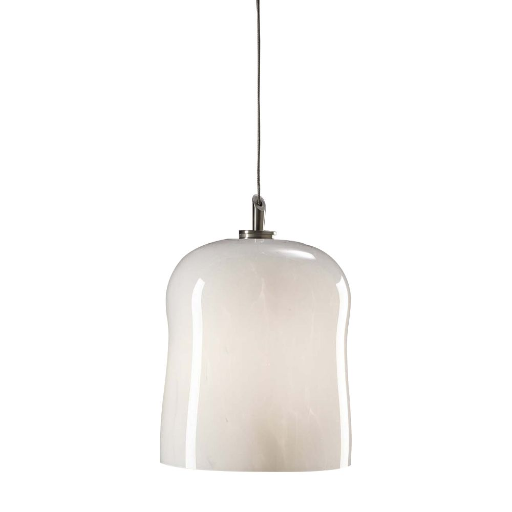 Contemporary Beauty 1 Light Mini Pendant with Clear Glass and Satin Nickel Finish