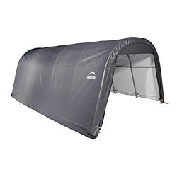 ShelterLogic 12 ft. x 20 ft. x 8 ft. Round Grey Garage