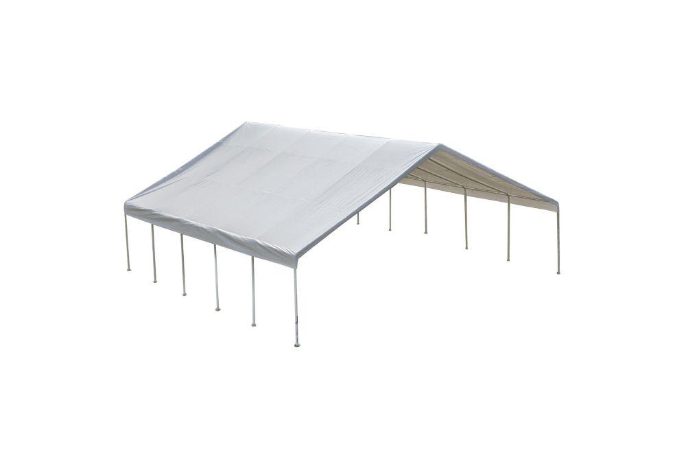 30 x 50 White Canopy Enclosure Kit