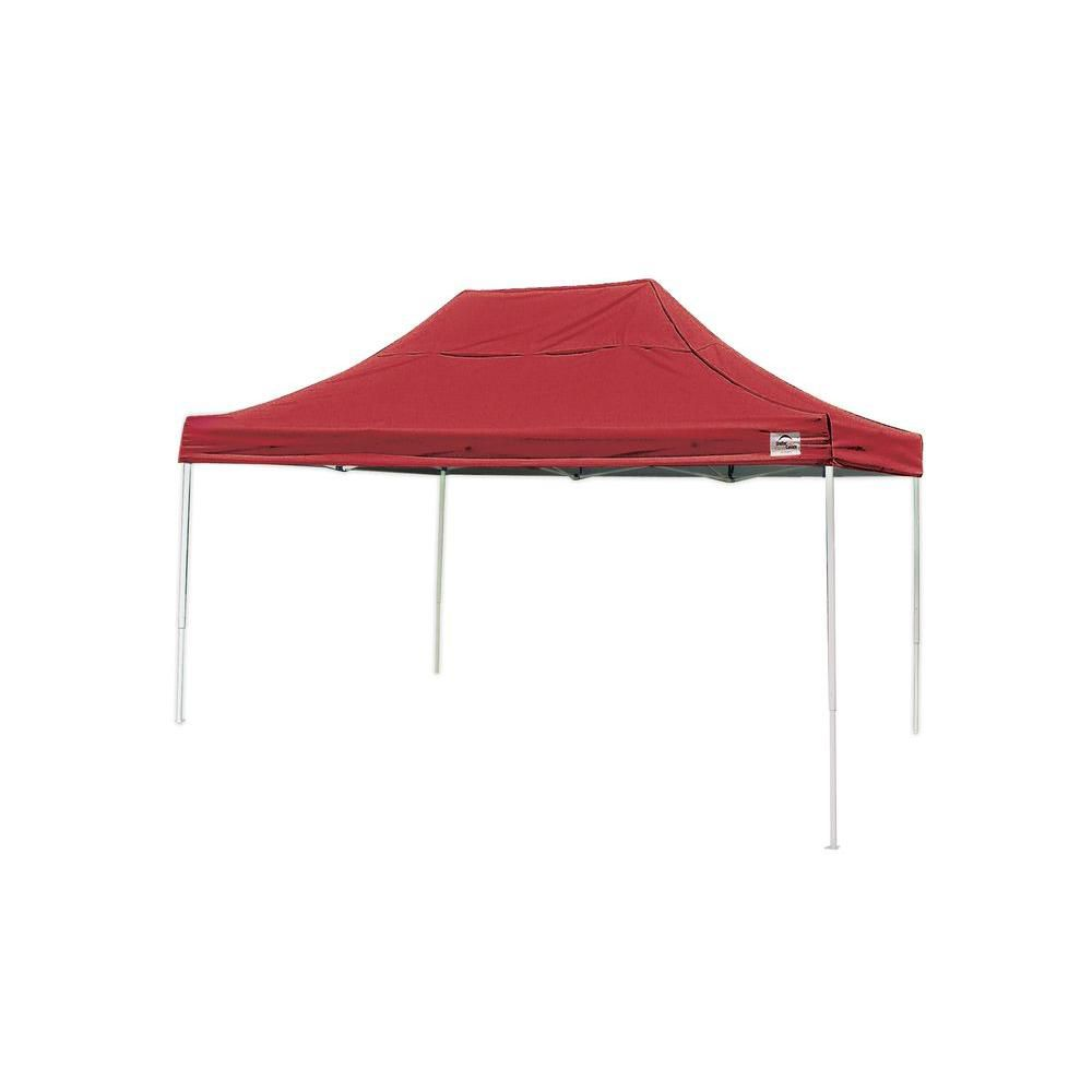 Pro 10 x 15 Red Straight Leg Pop-Up Canopy 22550 Canada Discount