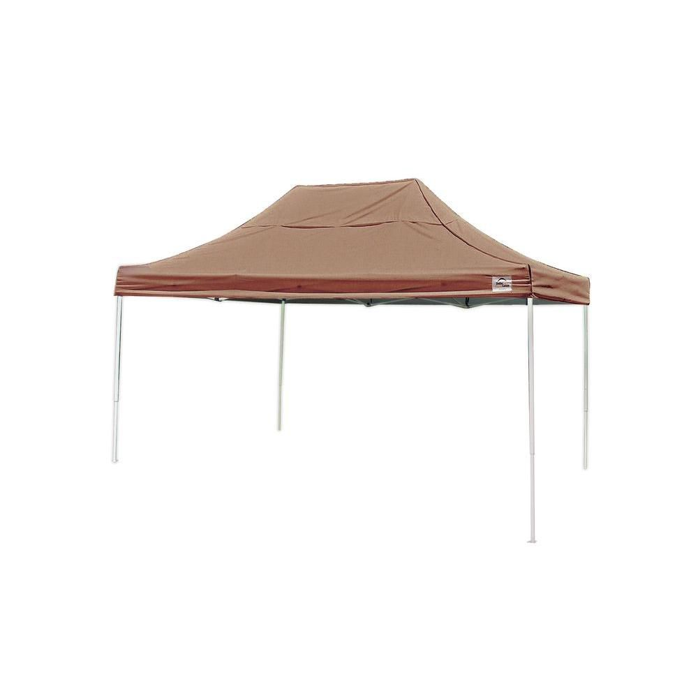 Pro 10 x 15 Black Straight Leg Pop-Up Canopy 22553 Canada Discount