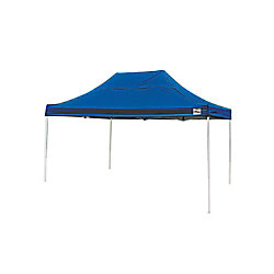 ShelterLogic Pro 10 ft. x 15 ft. Blue Straight Leg Pop-Up Canopy