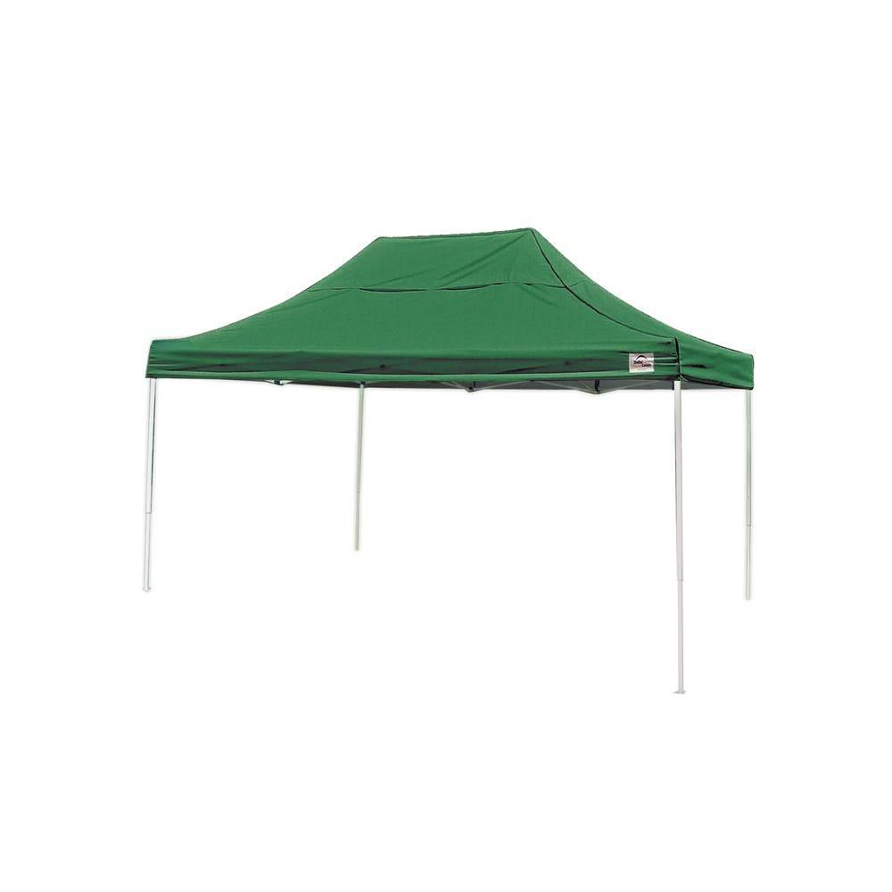 Pro 10 x 15 Green Straight Leg Pop-Up Canopy 22552 Canada Discount