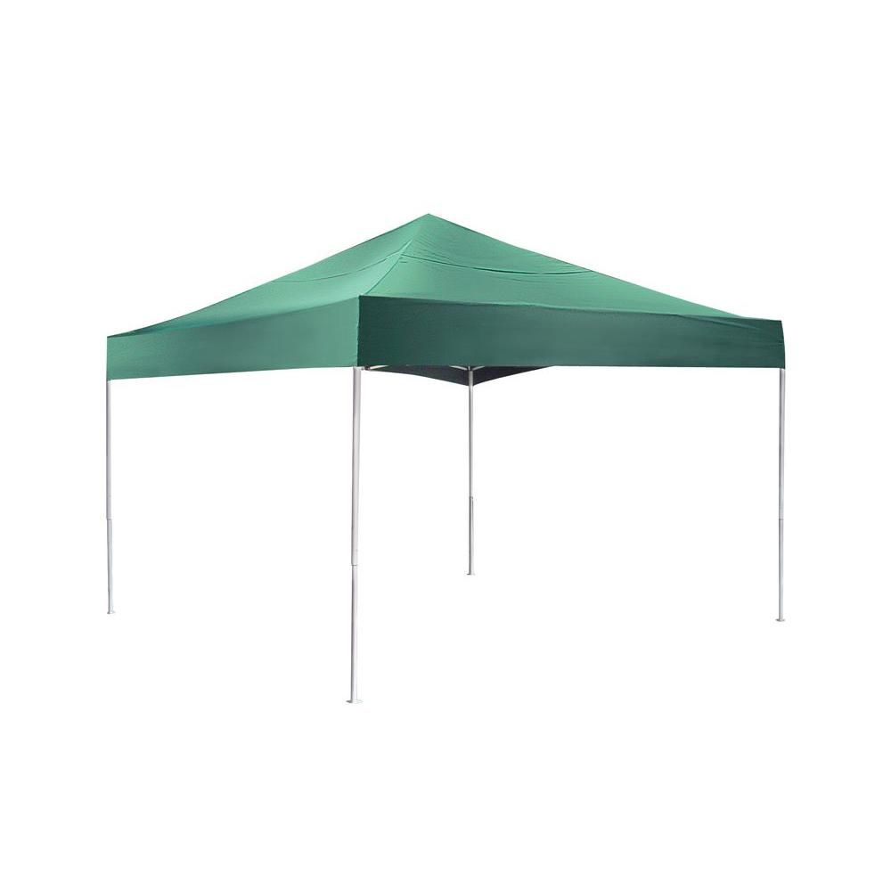shelterlogic pro 12 x 12 green pop up canopy the home. Black Bedroom Furniture Sets. Home Design Ideas