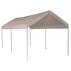 ShelterLogic 10 ft. x 20 ft. Canopy in White