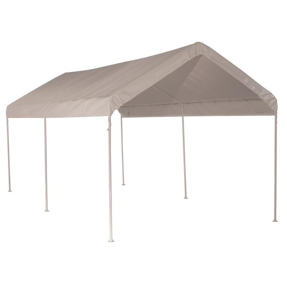 10 x 20 Canopy 1-3/8 Inch 3-Rib Frame White Cover