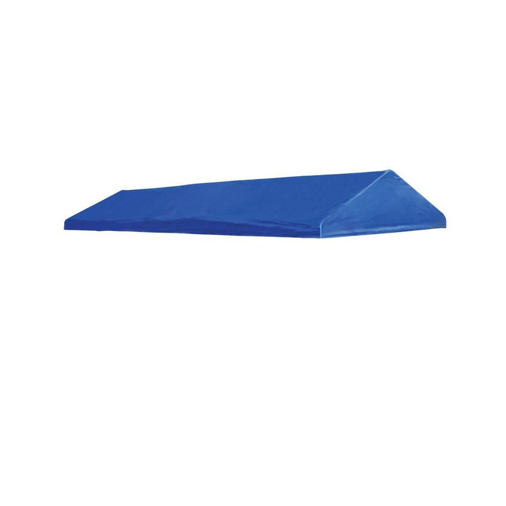 Celebration II 10 x 20 Blue Polyester Decorative Canopy Replacement Cover, Fits 1-3/8 Inch Frame 10192 Canada Discount