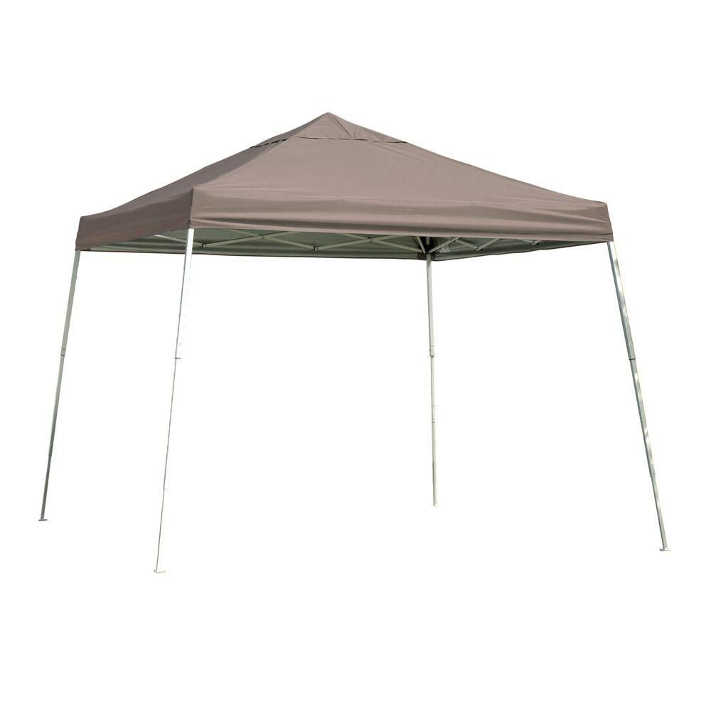 Sport Pop-Up Canopy, 12 x 12, Slant Leg, Desert Bronze Cover with Storage Bag 22548 Canada Discount