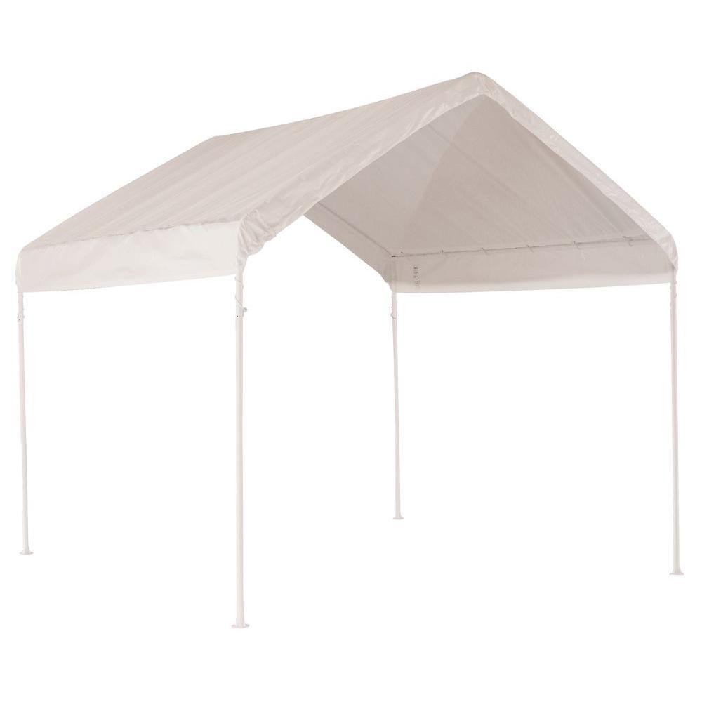 ShelterLogic Max AP 10 ft. x 10 ft. White Canopy
