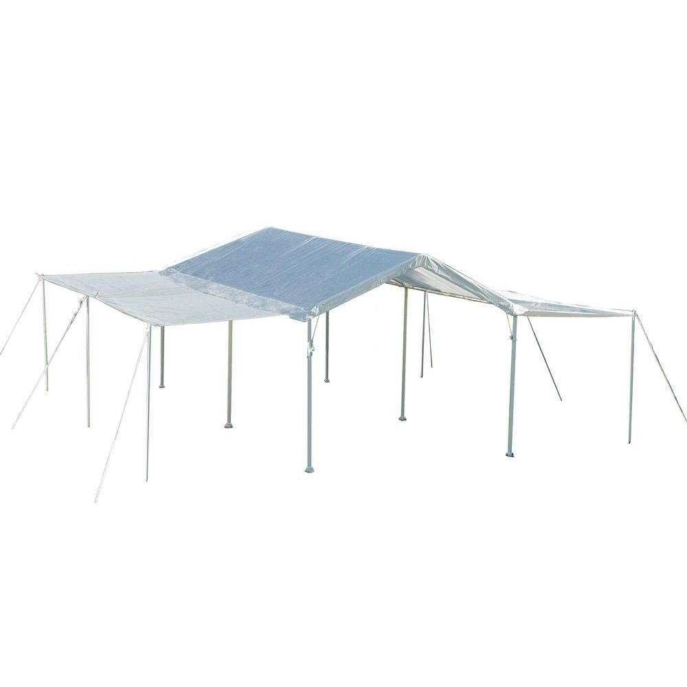 ShelterLogic Max AP 10 ft. x 20 ft. White Canopy Extension Kit
