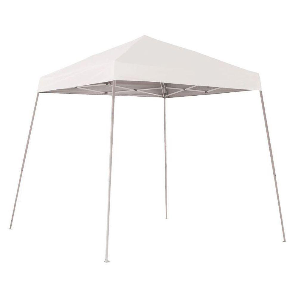 Sport 8 x 8 White Slant Leg Pop-Up Canopy 22571 Canada Discount