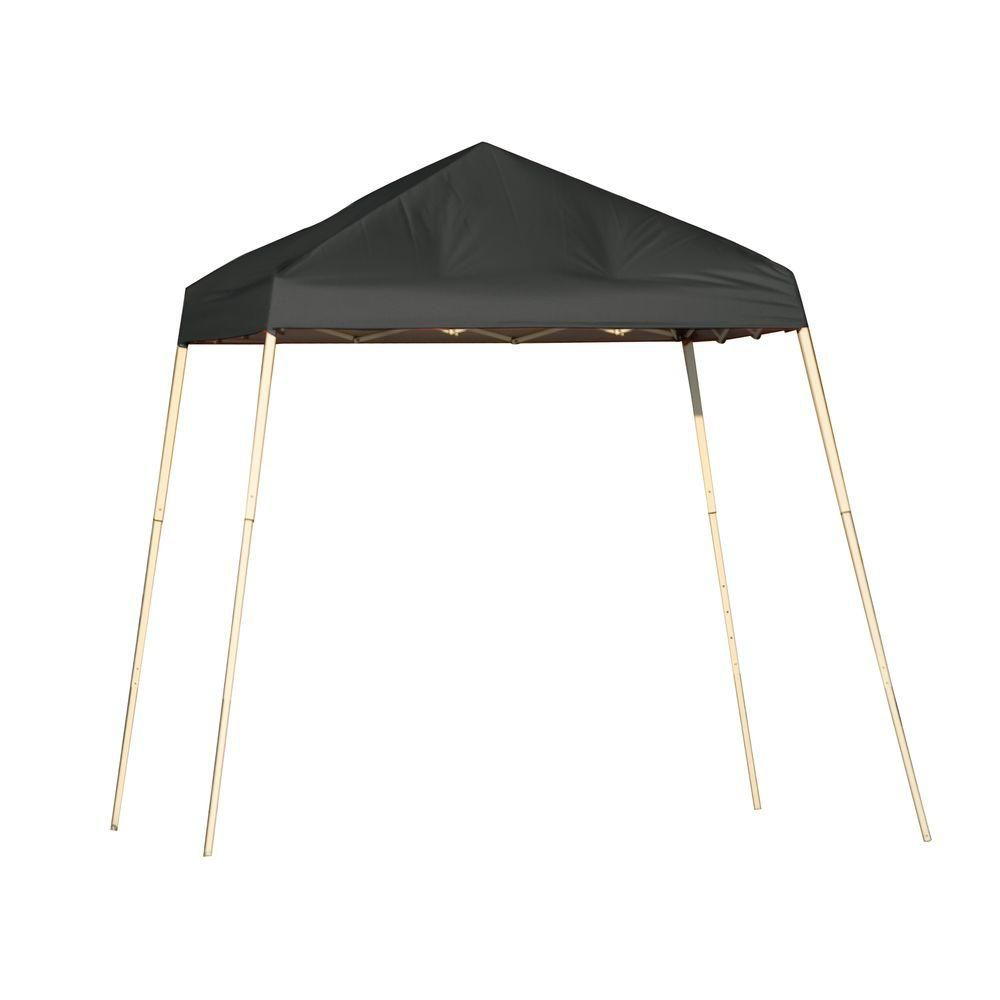 Sport 8 x 8 Black Slant Leg Pop-Up Canopy