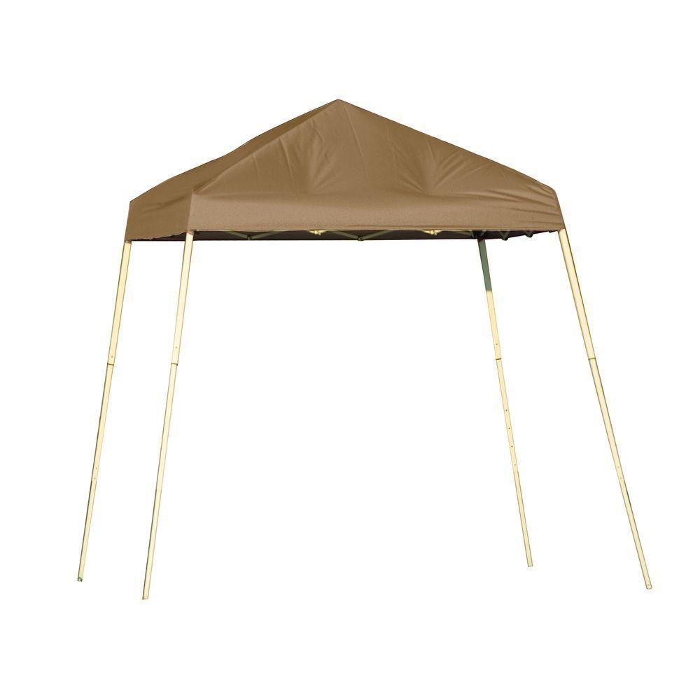 Sport 8 x 8 Desert Bronze Slant Leg Pop-up Canopy