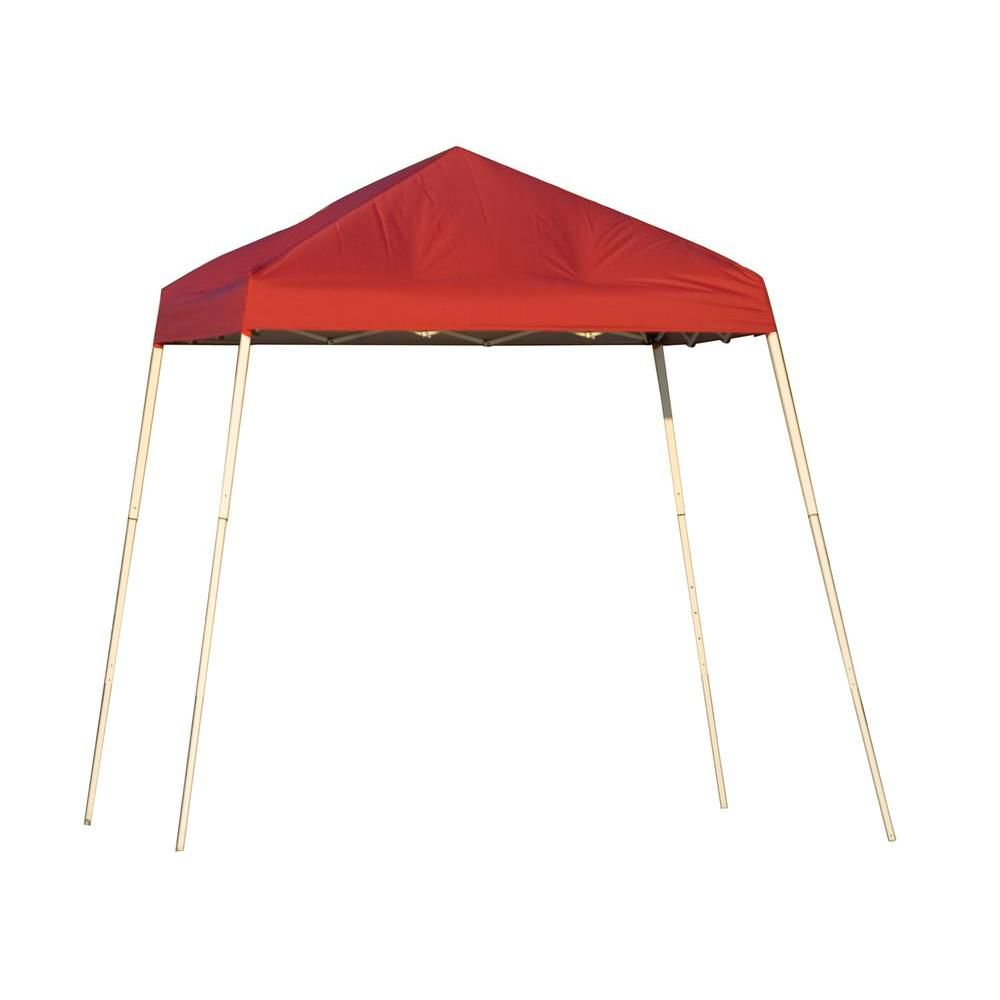 Sport 8 x 8 Red Slant Leg Pop-Up Canopy 22578 Canada Discount