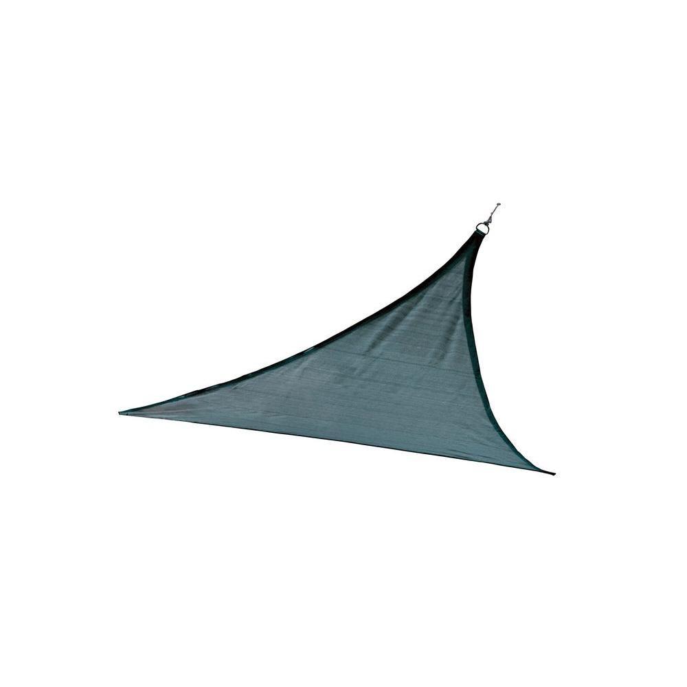 Bâche pare-soleil triangulaire, 16 pi, blue