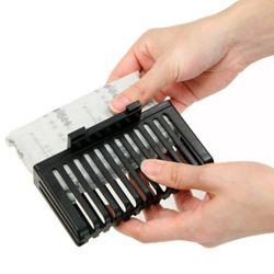 iTouchless Filtre à charbon actif rechargeable (3 paquets)