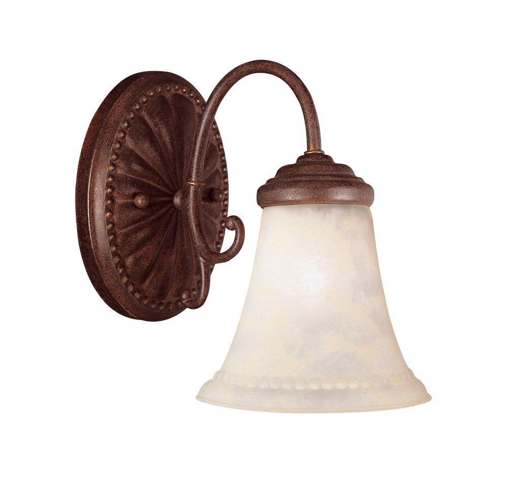 Barre d'éclairage Liberty pour salle de bain 1 lumière