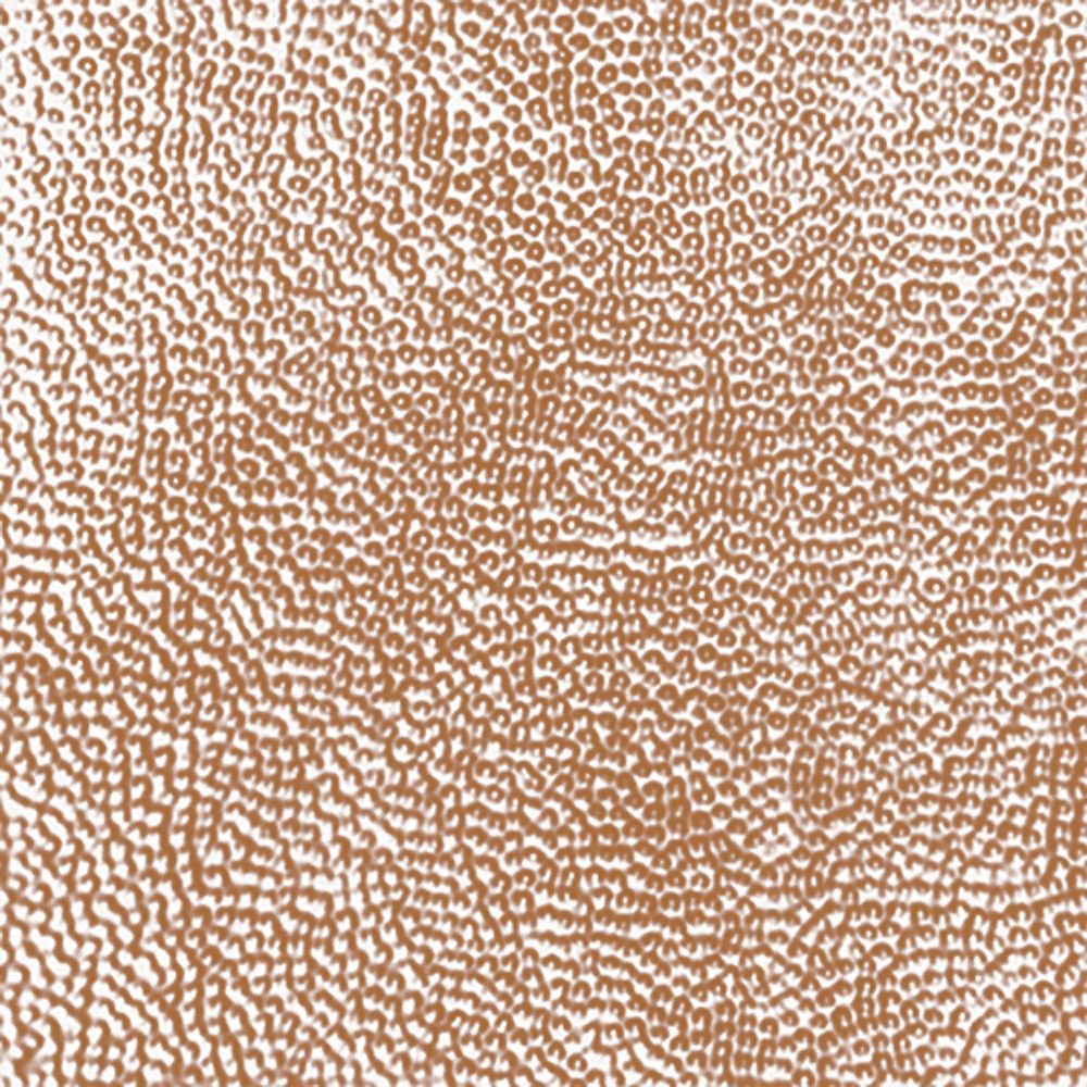 2 Feet x 4 Feet Copper Plated Steel Nail-Up Ceiling Tile Design Repeat Every 24 Inches