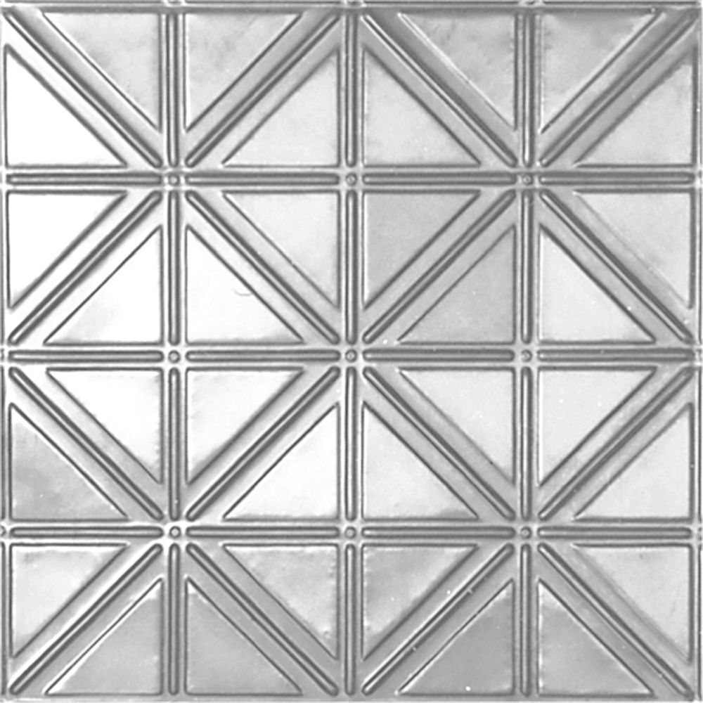 2 Feet x 4 Feet Lacquer Finish Steel Nail-Up Ceiling Tile Design Repeat Every 6 Inches LS215 4 Canada Discount