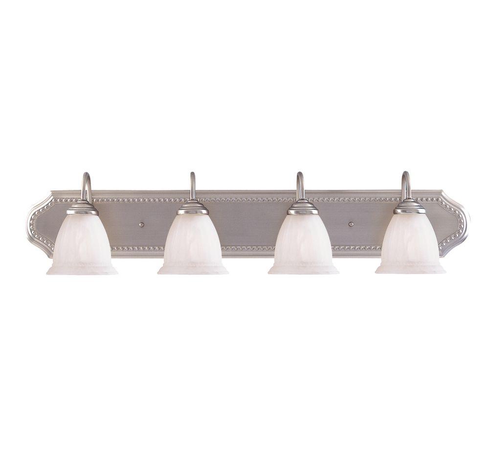 Barre d'éclairage Spirit pour salle de bain 4 lumières