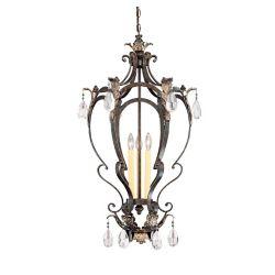 Illumine Satin 3-Light Bronze Pendant