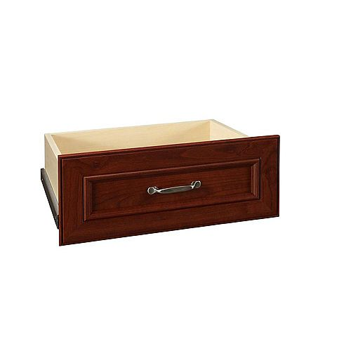 ClosetMaid Impressions 25-inch Dark Cherry Wide Deluxe Drawer Kit