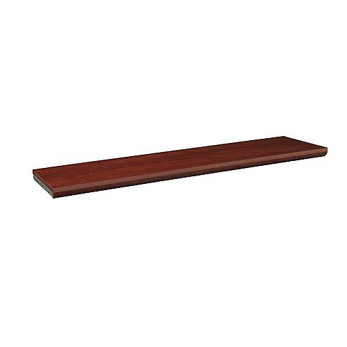 ClosetMaid Impressions 48 -inch Dark Cherry Top Shelf Kit