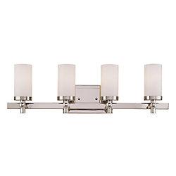 Illumine Barre d'éclairage Manhattan pour salle de bain 4 lumières