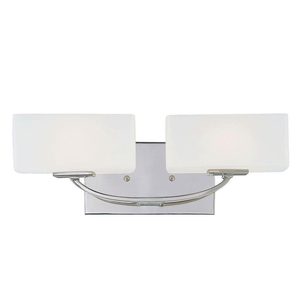 Barre d'éclairage Nordic pour salle de bain 2 lumières