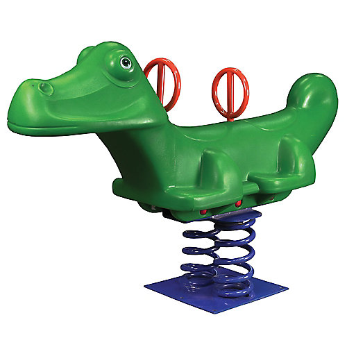 Alligator sur ressorts pour2