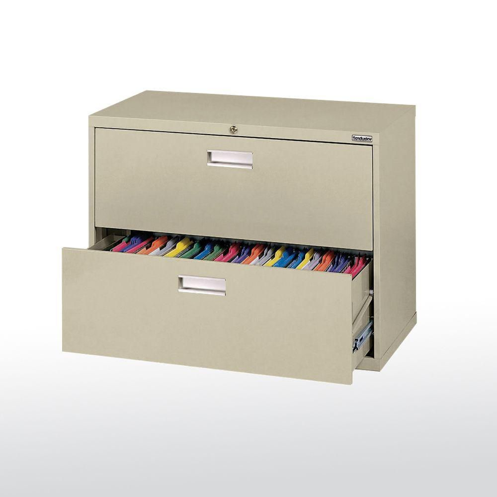 600 Series 2 Drawer Lateral File Putty Color LF6A362-07 Canada Discount