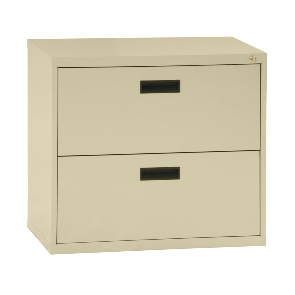 400 Series 2 Drawer Lateral File Putty Color